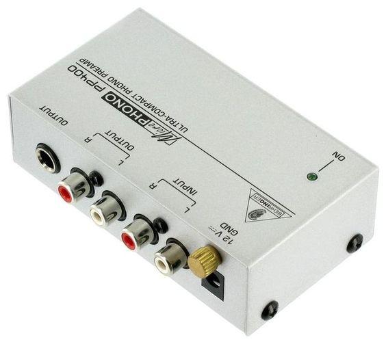 Аксессуар для винила Behringer PP400 аксессуар behringer микрофонный предусилитель mic2200