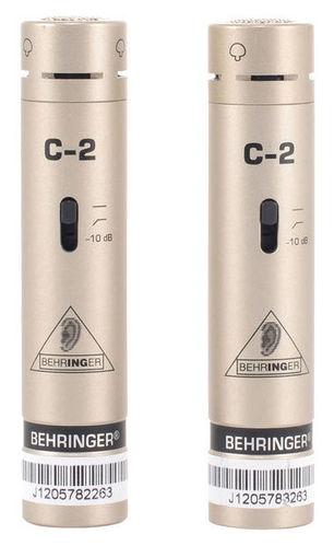 Микрофон с маленькой мембраной Behringer C-2
