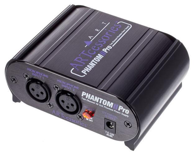 Питание для микрофона Art PHANTOM II Pro ноутбук msi gs43vr 7re 094ru phantom pro 9s7 14a332 094