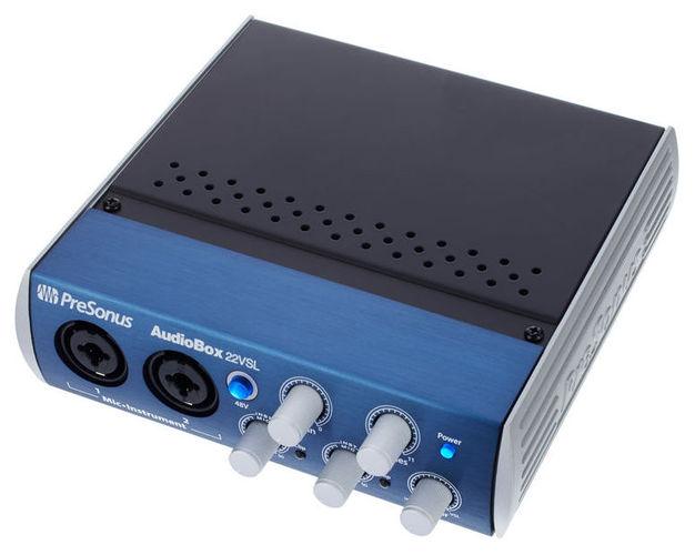 Звуковая карта внешняя PreSonus AudioBox 22VSL аудио интерфейс presonus audiobox 44vsl ubs 2 0