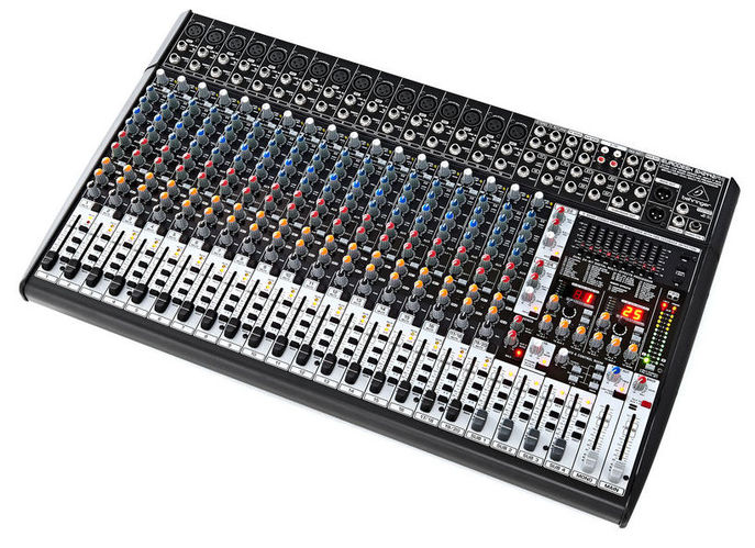 24-канальный микшер Behringer SX2442FX EURODESK 24 канальный микшер behringer sx2442fx eurodesk