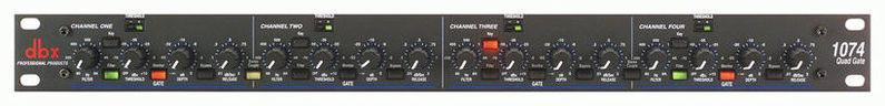 Компрессор, гейт, лимитер Dbx 1074 контроллер акустических систем dbx driverack pa 2