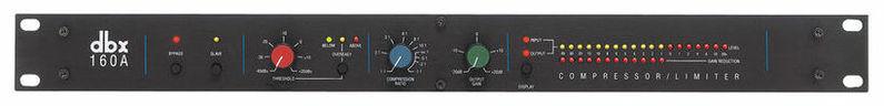 Компрессор, гейт, лимитер Dbx 160A контроллер акустических систем dbx driverack pa 2