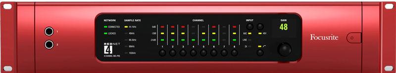Микрофонный предусилитель Focusrite RedNet4 предусилитель electrocompaniet ec 4 8