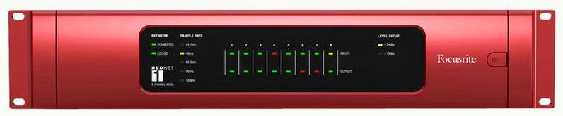 ЦАП-АЦП конвертер Focusrite RedNet1 цап ацп конвертер focusrite rednet3
