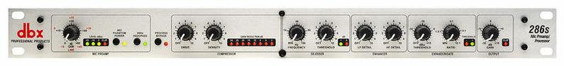 Микрофонный предусилитель Dbx 286S контроллер акустических систем dbx driverack pa 2