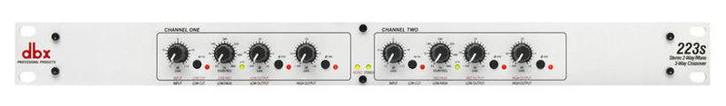 Кроссовер для звука Dbx 223S контроллер акустических систем dbx zc6