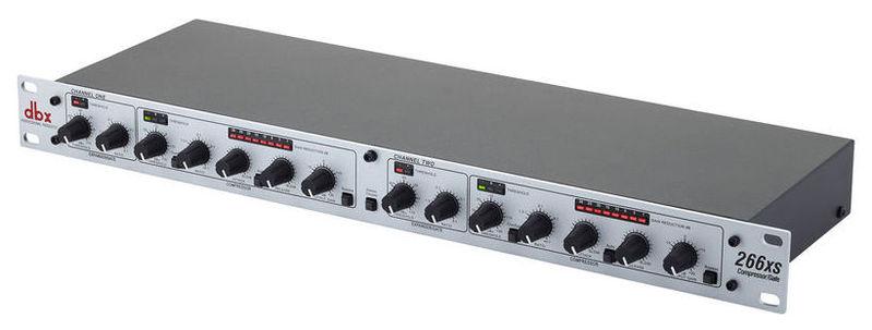 Компрессор, гейт, лимитер Dbx 266XS контроллер акустических систем dbx zc6