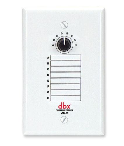 Контроллер акустических систем Dbx ZC9 контроллер акустических систем dbx zc8