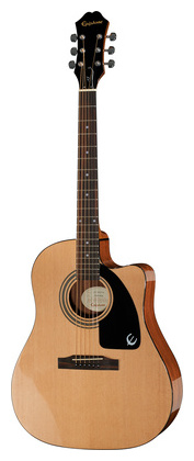 Электроакустическая гитара Epiphone AJ-100CE письменный стол васко соло 021