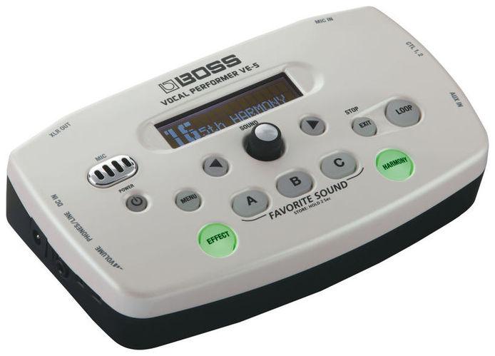 Вокальный процессор Boss VE-5 вокальный процессор roland vp 03