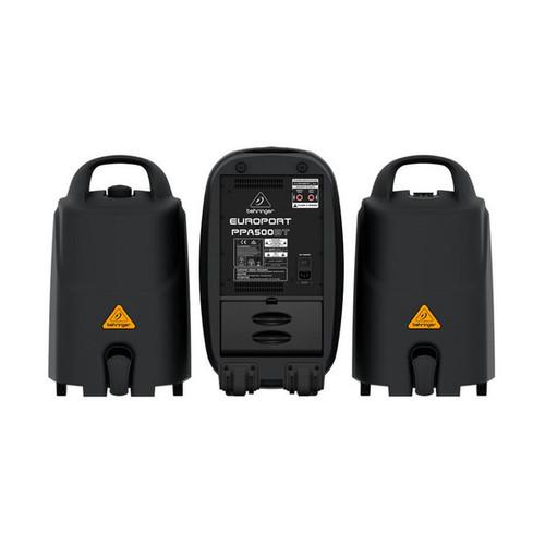 Комплект акустических систем Behringer EUROPORT PPA500BT behringer epa 900 europort
