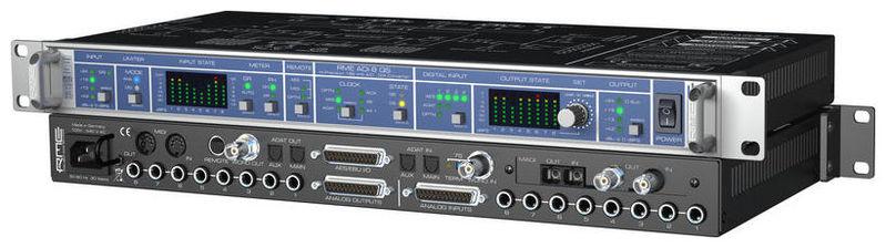 ЦАП-АЦП конвертер RME ADI-8 QS цап ацп конвертер mutec mc 2