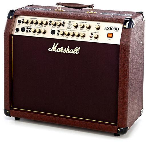 Комбо для акустической гитары MARSHALL AS100D комбо для гитары marshall jvm205c