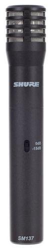 Микрофон с маленькой мембраной Shure SM137-LC стерео микрофон shure vp88