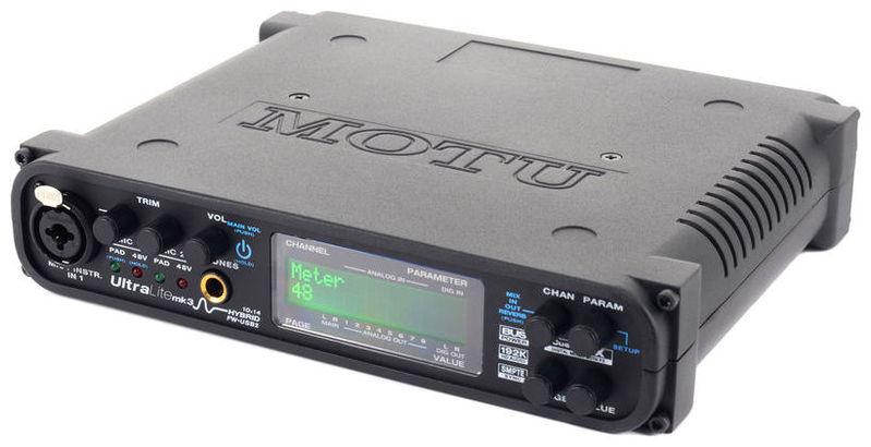 Звуковая карта внешняя MOTU UltraLite mkIII Hybrid звуковая карта motu 828 mk iii firewire 24 192 в москве