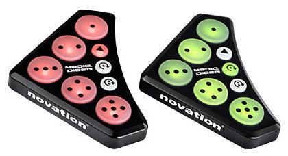 MIDI, Dj контроллер Novation Dicer dekok magic dicer