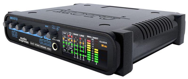 Звуковая карта внешняя MOTU Audio Express huayuan внешняя звуковая карта 5 1 surround usb powered ноутбук ноутбук адаптер аудио