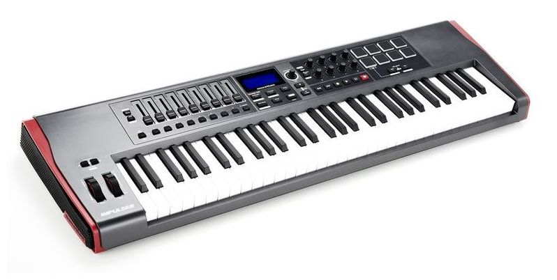 MIDI-клавиатура 61 клавиша Novation Impulse 61 impulse d7 0