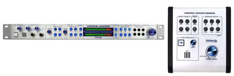 Контроллер, элемент управления PreSonus CENTRAL STATION PLUS контроллер элемент управления presonus central station plus