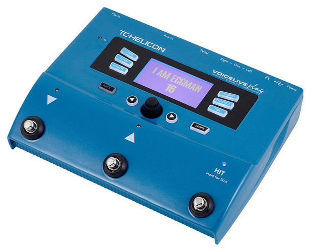 Вокальный процессор TC HELICON VoiceLive Play вокальный процессор tc helicon voicetone correct xt