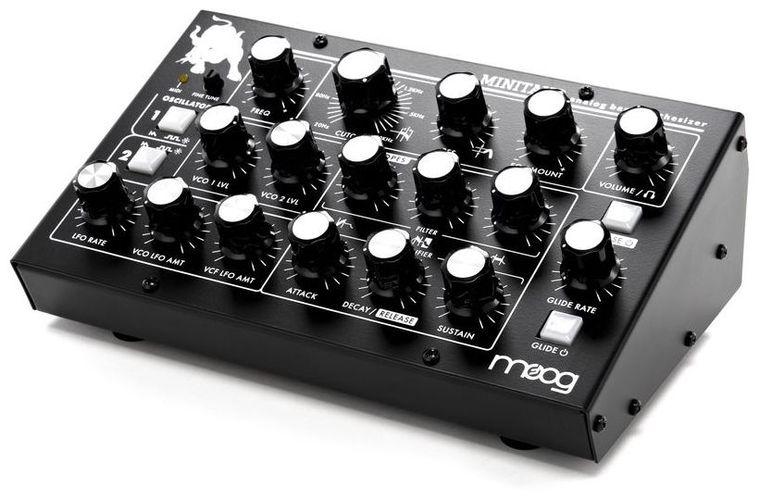 Звуковой модуль Moog Minitaur басовый усилитель ampeg svt 3pro