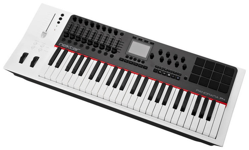 MIDI-клавиатура 49 клавиш Nektar Panorama P4 midi клавиатура 61 клавиша nektar impact lx61