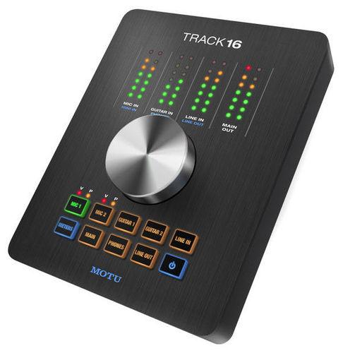 Звуковая карта внешняя MOTU Track16 звуковая карта motu 828 mk iii firewire 24 192 в москве