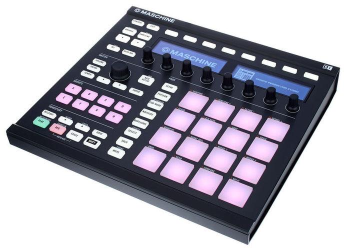 MIDI, Dj контроллер Native Instruments MASCHINE MK2 black midi контроллер alesis sample pad