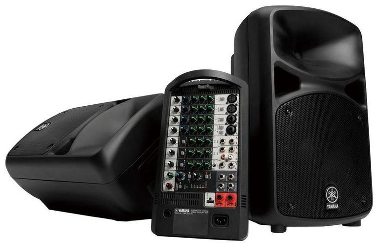 Комплект акустических систем Yamaha STAGEPAS 600i звукоусилительный комплект yamaha yamaha yamaha stagepas 600i