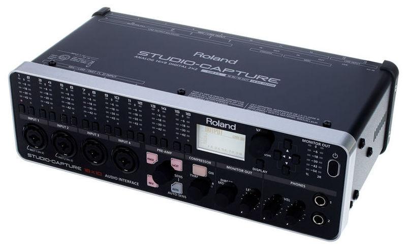 Звуковая карта внешняя Roland Studio Capture huayuan внешняя звуковая карта 5 1 surround usb powered ноутбук ноутбук адаптер аудио