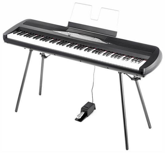 Сценическое фортепиано Korg SP-280 BK мужской свитер в полоску 52