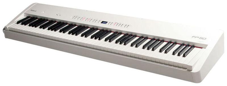 Сценическое фортепиано Roland FP-50 WH sargan жилет разгрузочный сарган броник strl болотный