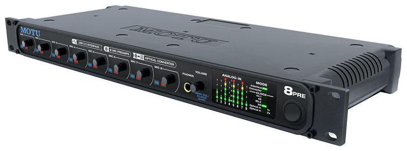 Звуковая карта внешняя MOTU 8 PRE USB звуковая карта motu 828 mk iii firewire 24 192 в москве