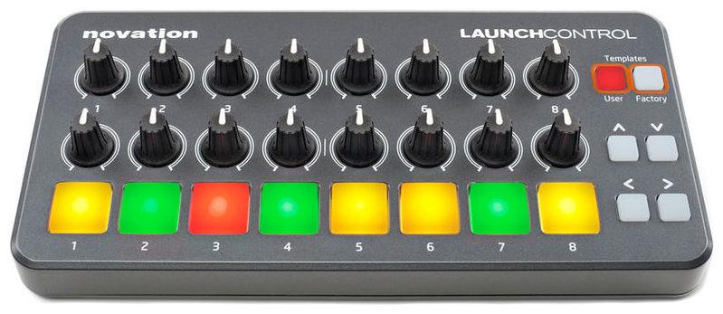 MIDI, Dj контроллер Novation Launch Control