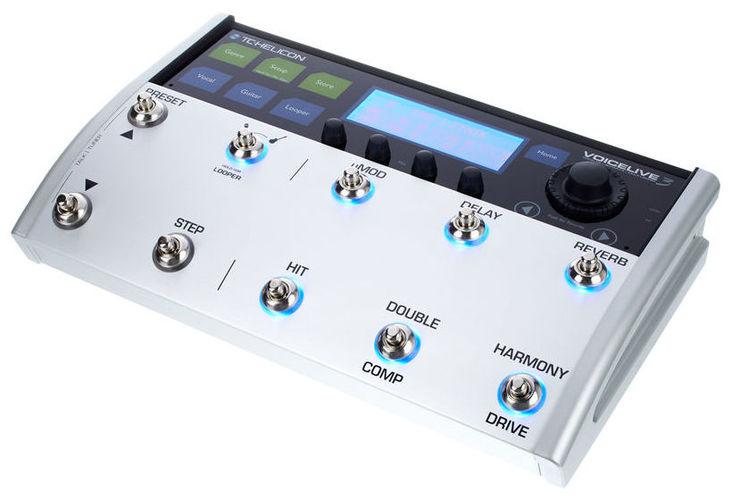 Вокальный процессор TC HELICON Voicelive 3 вокальный процессор tc helicon voice tone h1