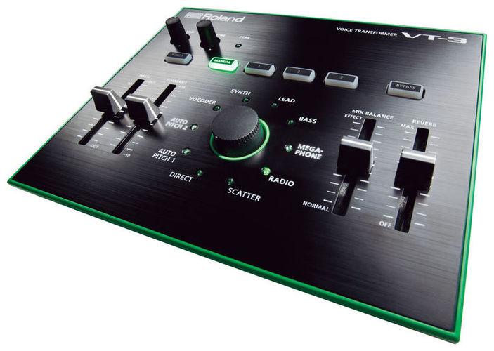 Вокальный процессор Roland VT-3 вокальный процессор roland vt 12 black