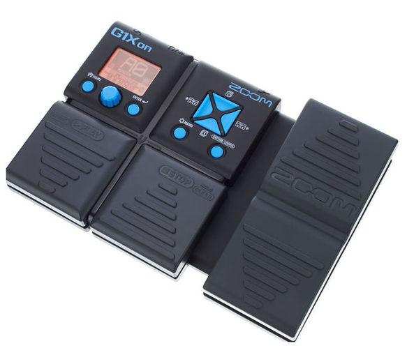 Гитарный процессор для электрогитары Zoom G1Xon встроенная техника