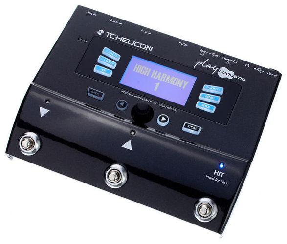 Вокальный процессор TC HELICON PLAY ACOUSTIC вокальный процессор tc helicon voice tone h1
