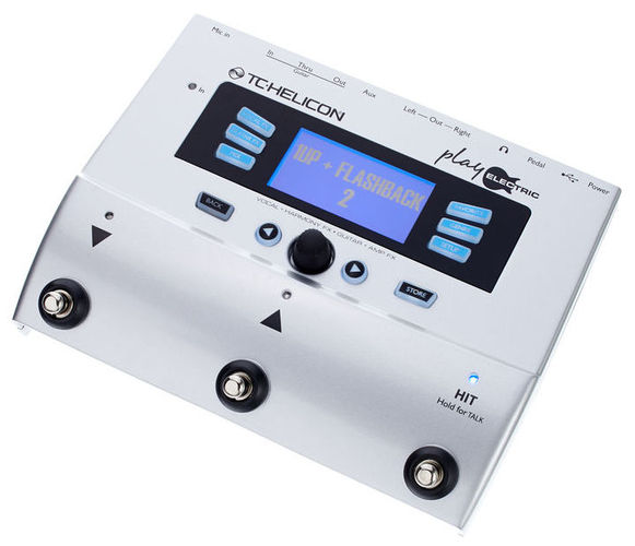 Вокальный процессор TC HELICON Play Electric вокальный процессор tc helicon voice tone h1