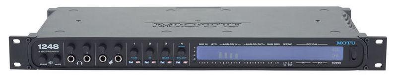 Звуковая карта внешняя MOTU 1248 звуковая карта motu 828 mk iii firewire 24 192 в москве