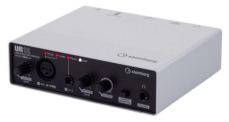все цены на Звуковая карта внешняя Steinberg UR12 онлайн