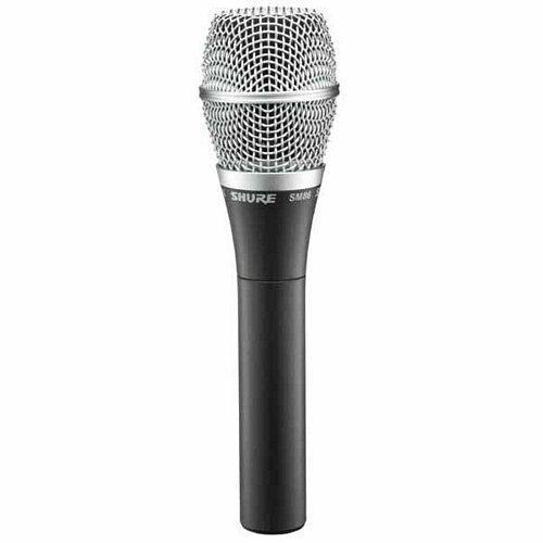Конденсаторный микрофон Shure SM86 shure sm86 кардиоидный конденсаторный вокальный микрофон black