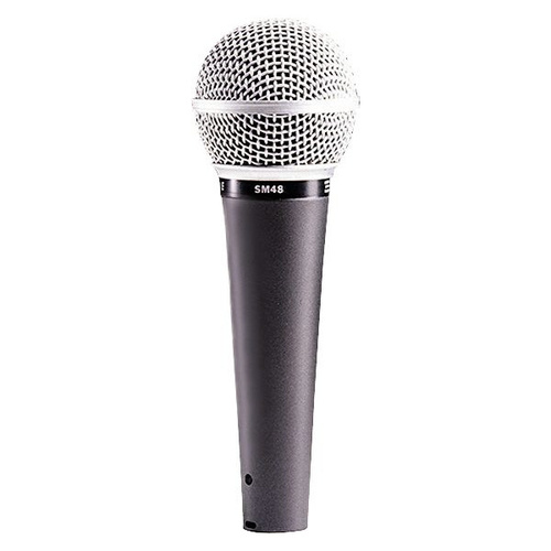 Динамический микрофон Shure SM48S shure sm58 lce кардиоидный динамический вокальный микрофон black
