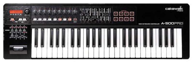 MIDI-клавиатура 49 клавиш Roland A-500PRO хай хэт и контроллер для электронной ударной установки roland fd 9 hi hat controller pedal