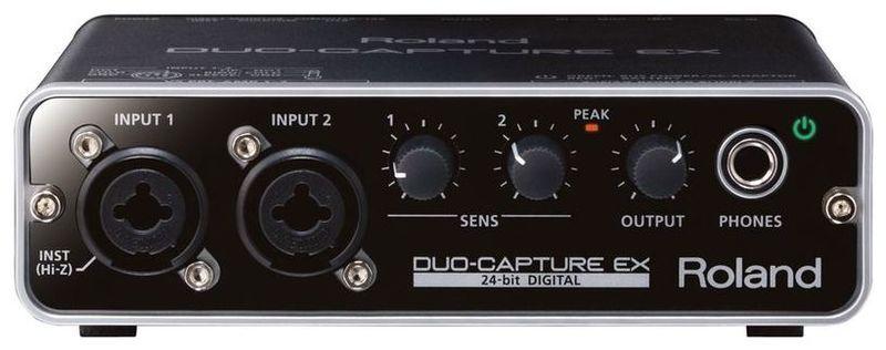 Звуковая карта внешняя Roland DUO-CAPTURE EX UA-22 усилитель для акустической гитар roland cube street ex