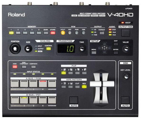Видеомикшер Roland V-40 HD roland m cube gxr