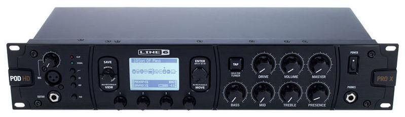 Гитарный процессор для электрогитары LINE 6 POD HD Pro X гитарный процессор для электрогитары behringer v amp3