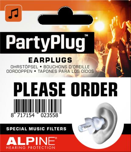 Беруши Alpine Party Plug Limited Edition беруши 3m 1100 противошум 5пар