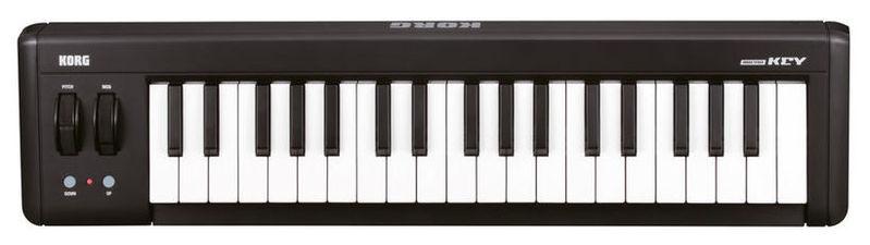 все цены на MIDI-клавиатура 37 клавиш Korg MicroKEY37 онлайн